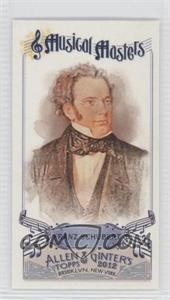 2012 Topps Allen & Ginter's - Musical Masters Minis #MM-7 - Franz Schubert