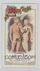2012 Topps Allen & Ginter's - People of the Bible Minis #PB-11 - Adam & Eve