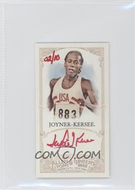 2012 Topps Allen & Ginter's - Unframed Mini Autographs - Red Ink [Autographed] #AGA-JKJ - Jackie Joyner-Kersee /10