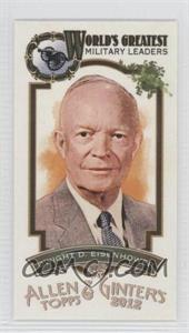 2012 Topps Allen & Ginter's - World's Greatest Military Leaders Minis #ML-10 - Dwight D. Eisenhower