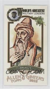 2012 Topps Allen & Ginter's - World's Greatest Military Leaders Minis #ML-13 - Saladin