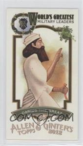 2012 Topps Allen & Ginter's - World's Greatest Military Leaders Minis #ML-19 - Darius the Great