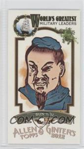 2012 Topps Allen & Ginter's - World's Greatest Military Leaders Minis #ML-20 - Sun Tzu