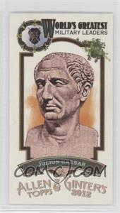 2012 Topps Allen & Ginter's - World's Greatest Military Leaders Minis #ML-4 - Julius Caesar