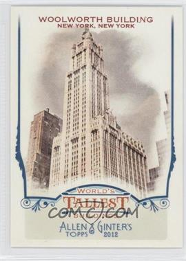 2012 Topps Allen & Ginter's - World's Tallest Buildings #WTB9 - Woolworth Building