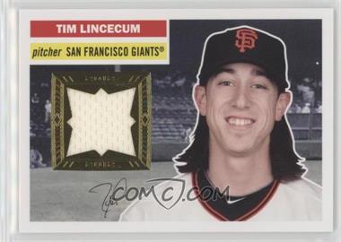 2012 Topps Archives - 1956 Relics #56R-TL - Tim Lincecum