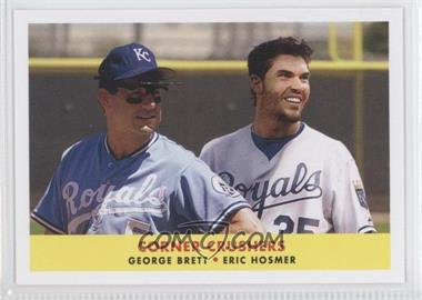 2012 Topps Archives - 1958 Duos #58-BH - George Brett, Eric Hosmer