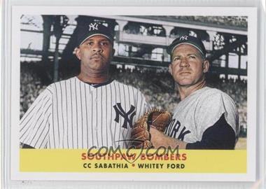 2012 Topps Archives - 1958 Duos #58-SF - C.C. Sabathia, Whitey Ford