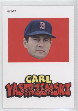 2012 Topps Archives - 1967 Stickers #67S-CY - Carl Yastrzemski