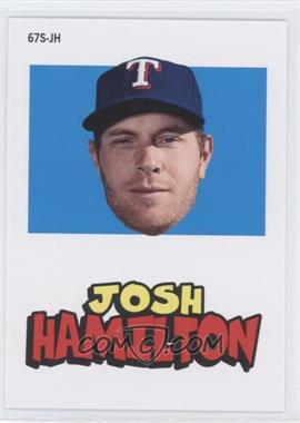 2012 Topps Archives - 1967 Stickers #67S-JH - Josh Hamilton