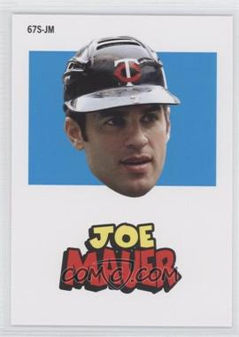 2012 Topps Archives - 1967 Stickers #67S-JM - Joe Mauer