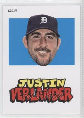 2012 Topps Archives - 1967 Stickers #67S-JV - Justin Verlander