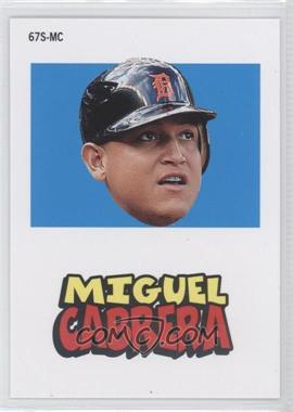 2012 Topps Archives - 1967 Stickers #67S-MC - Miguel Cabrera