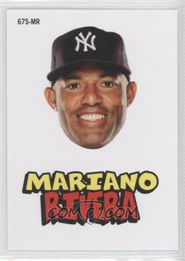 2012 Topps Archives - 1967 Stickers #67S-MR - Mariano Rivera