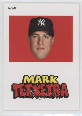 2012 Topps Archives - 1967 Stickers #67S-MT - Mark Teixeira