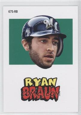 2012 Topps Archives - 1967 Stickers #67S-RB - Ryan Braun