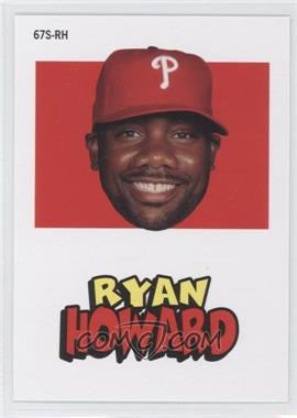 2012 Topps Archives - 1967 Stickers #67S-RH - Ryan Howard