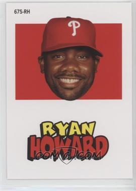2012 Topps Archives - 1967 Stickers #67S-RH - Ryan Howard
