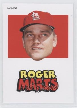 2012 Topps Archives - 1967 Stickers #67S-RM - Roger Maris