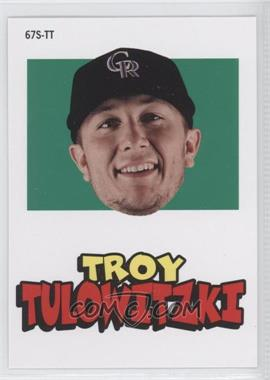 2012 Topps Archives - 1967 Stickers #67S-TT - Troy Tulowitzki