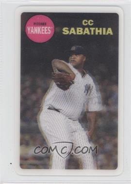 2012 Topps Archives - 1968 3D #CCSA - CC Sabathia