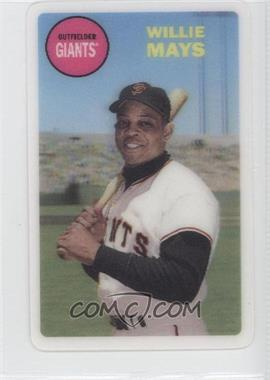 2012 Topps Archives - 1968 3D #WIMA - Willie Mays