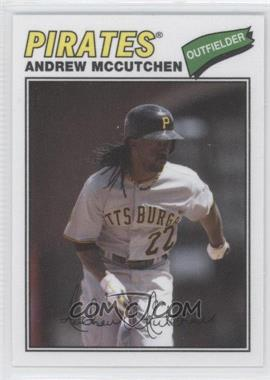 2012 Topps Archives - 1977 Cloth Patches #77C-AM - Andrew McCutchen