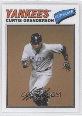 2012 Topps Archives - 1977 Cloth Patches #77C-CG - Curtis Granderson