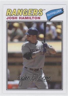 2012 Topps Archives - 1977 Cloth Patches #77C-JH - Josh Hamilton