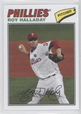 2012 Topps Archives - 1977 Cloth Patches #77C-RH - Roy Halladay