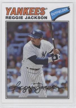 2012 Topps Archives - 1977 Cloth Patches #77C-RJ - Reggie Jackson