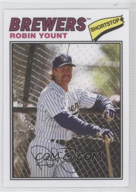 2012 Topps Archives - 1977 Cloth Patches #77C-RY - Robin Yount