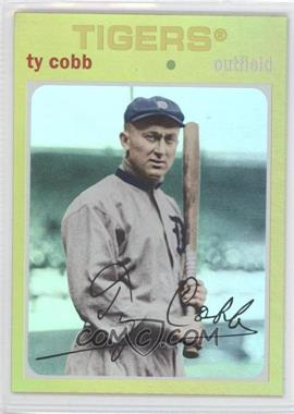 2012 Topps Archives - [Base] - Gold #74 - Ty Cobb