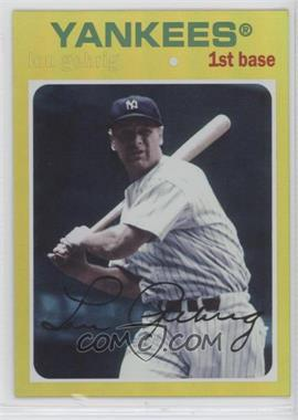 2012 Topps Archives - [Base] - Gold #89 - Lou Gehrig