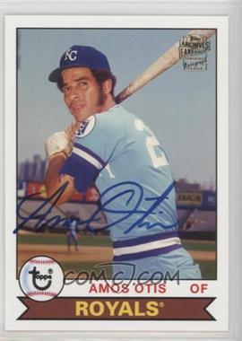 2012 Topps Archives - Fan Favorites - Certified Autograph [Autographed] #FFA-AOT - Amos Otis