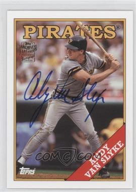 2012 Topps Archives - Fan Favorites - Certified Autograph [Autographed] #FFA-AVS - Andy Van Slyke