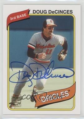 2012 Topps Archives - Fan Favorites - Certified Autograph [Autographed] #FFA-DD - Doug DeCinces