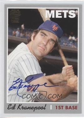 2012 Topps Archives - Fan Favorites - Certified Autograph [Autographed] #FFA-EK - Ed Kranepool