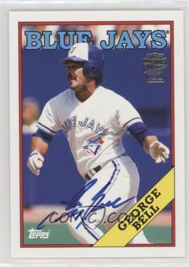 2012 Topps Archives - Fan Favorites - Certified Autograph [Autographed] #FFA-GB - George Bell
