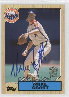 2012 Topps Archives - Fan Favorites - Certified Autograph [Autographed] #FFA-MSC - Mike Scott