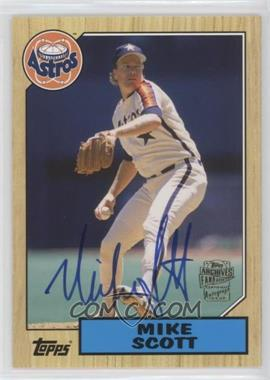 2012 Topps Archives - Fan Favorites - Certified Autograph [Autographed] #FFA-MSC - Mike Scott