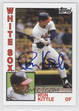 2012 Topps Archives - Fan Favorites - Certified Autograph [Autographed] #FFA-RK - Ron Kittle