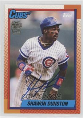 2012 Topps Archives - Fan Favorites - Certified Autograph [Autographed] #FFA-SD - Shawon Dunston
