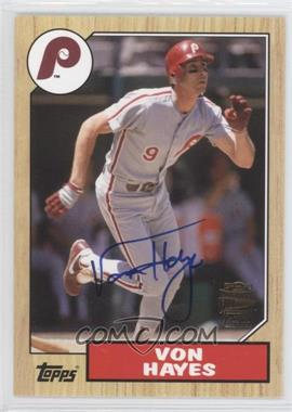 2012 Topps Archives - Fan Favorites - Certified Autograph [Autographed] #FFA-VH - Von Hayes