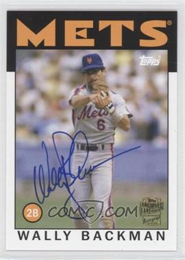 2012 Topps Archives - Fan Favorites - Certified Autograph [Autographed] #FFA-WB - Wally Backman
