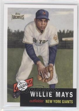 2012 Topps Archives - Reprint Inserts #244 - Willie Mays