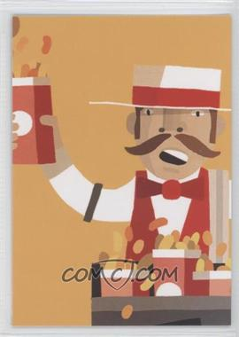 2012 Topps Bunt - [Base] #NoN - HOT DOGS getcha hot dogs here!