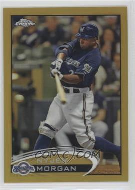 2012 Topps Chrome - [Base] - Gold Refractor #121 - Nyjer Morgan /50