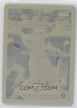 2012 Topps Chrome - [Base] - Printing Plate Yellow #187 - Adrian Cardenas /1