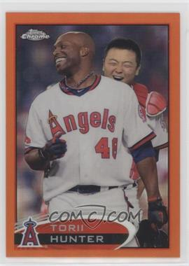 2012 Topps Chrome - [Base] - Retail Orange Refractor #51 - Torii Hunter